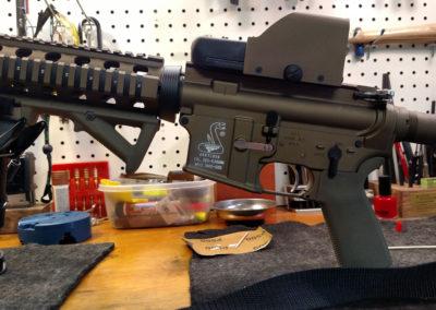 Bushmaster AR15 Bronze Cerakote