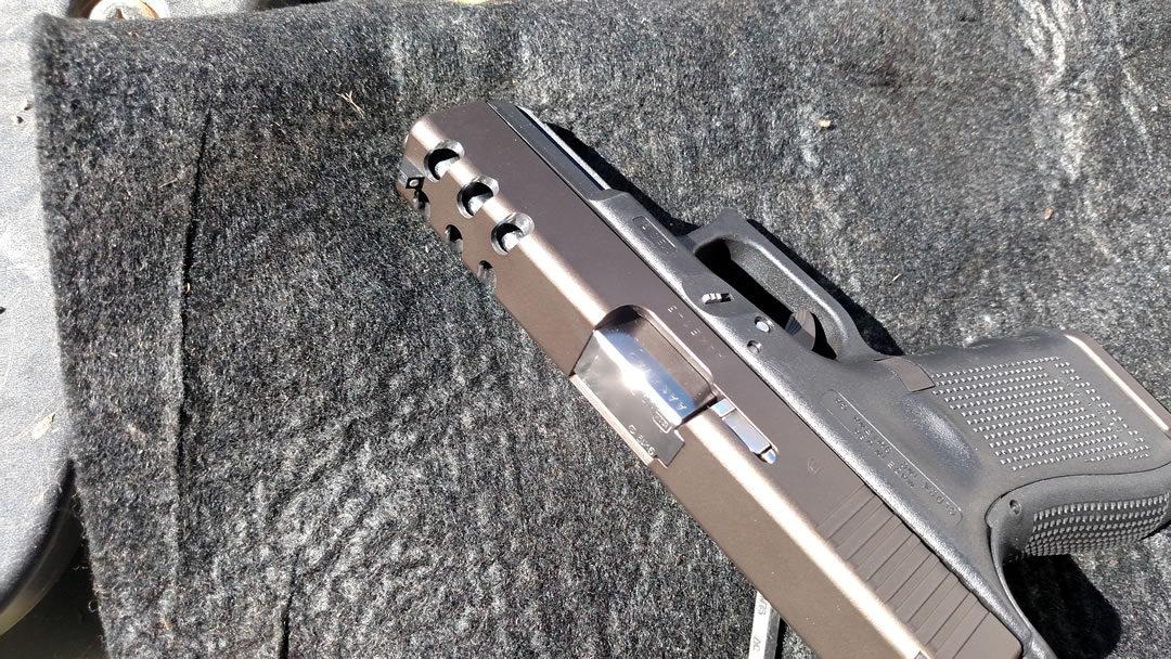 Glock 19 Ported Slide