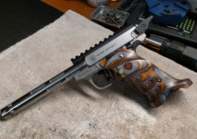 Custom built Smith and Wesson Victory with Volquartsen parts