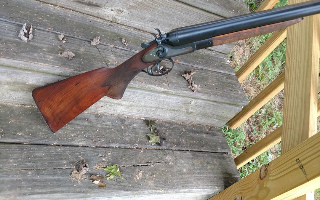 Stevens SxS shotgun restoration