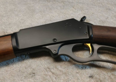 Marlin 35 metal refinishing