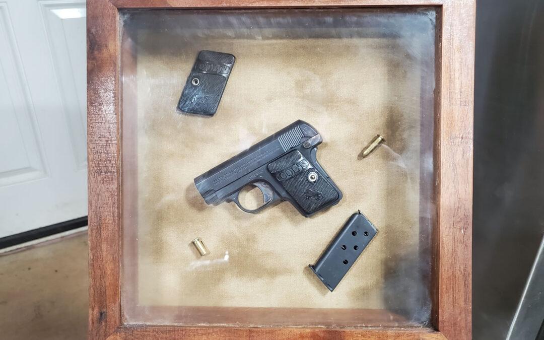 Colt Pocket in Presentation Display Case